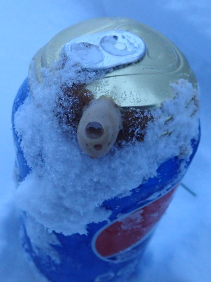 At what temperature do soda cans explode ...