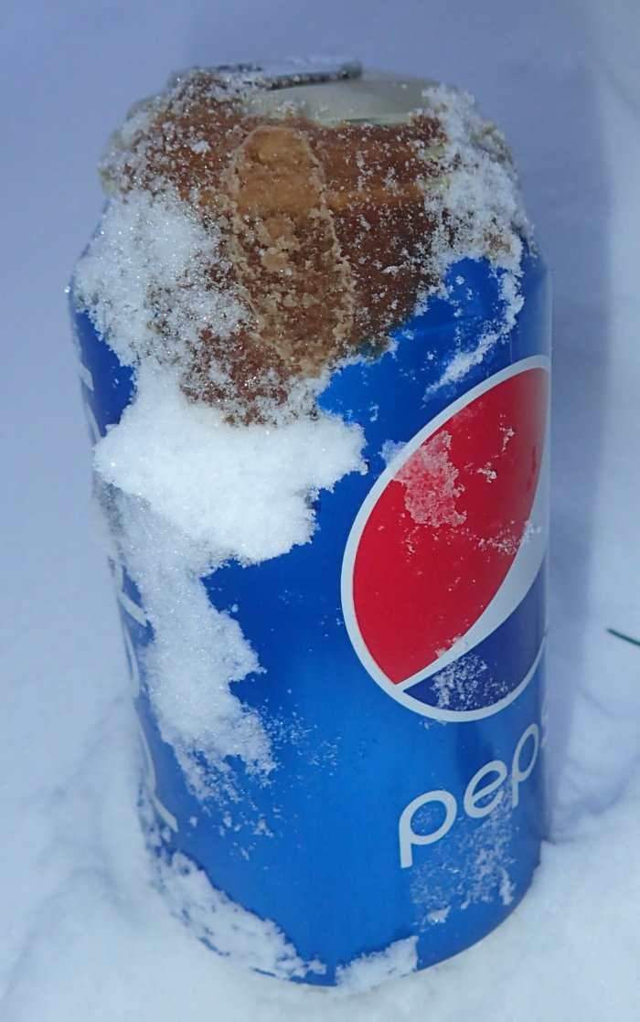 Why do soda cans blow up when you put them in the freezer ...